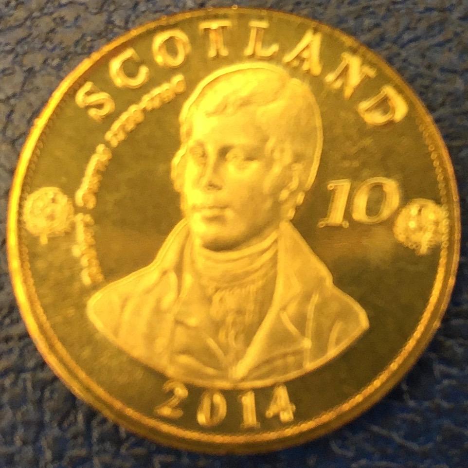 Monedas de lo que pudo ser una Escocia independiente IMG_4407
