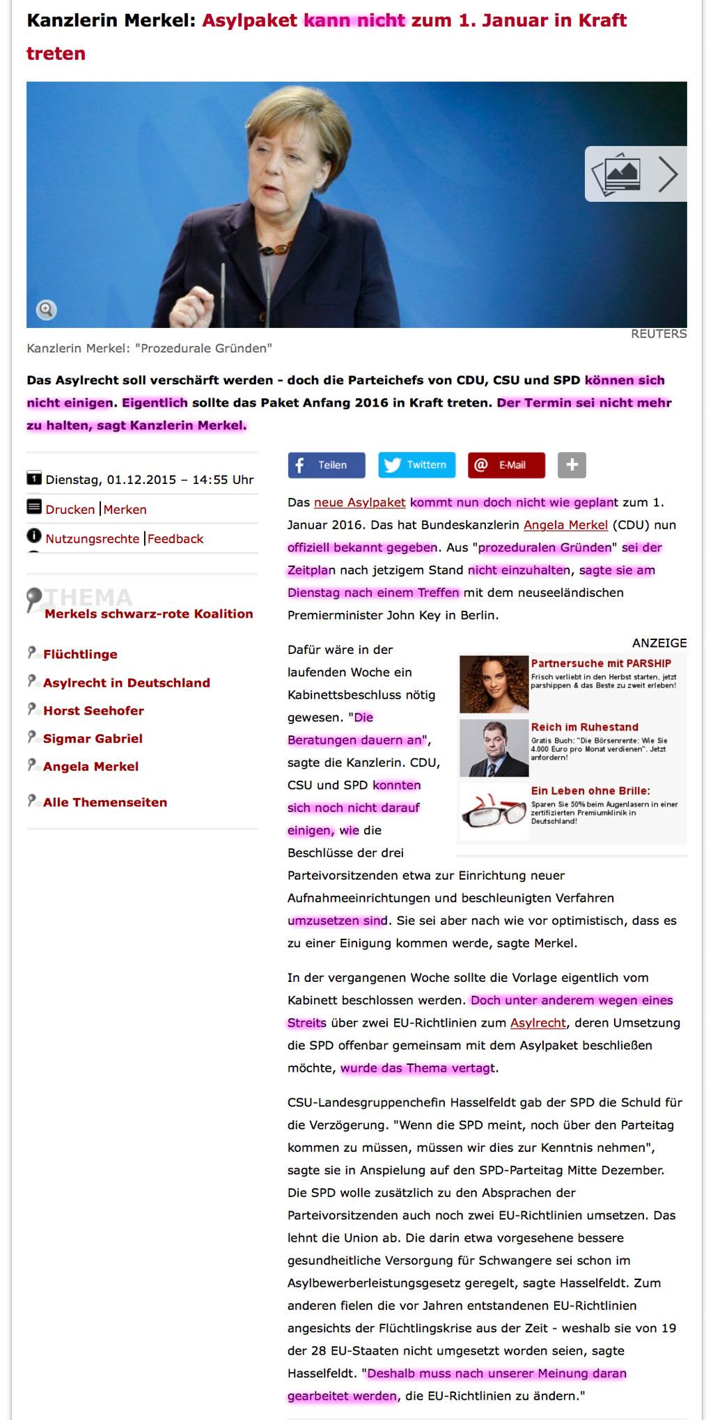 Allgemeine Freimaurer-Symbolik & Marionetten-Mimik - Seite 5 Merkel