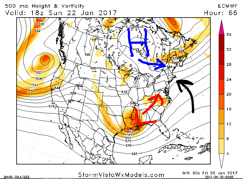 January 22nd-24th Storm Update / Discussions EURO_H5