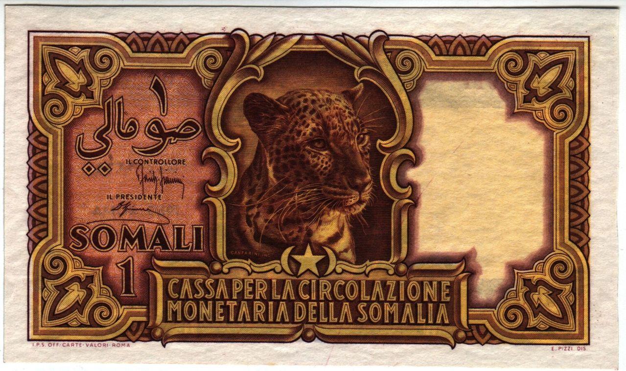 Somalia Italiana 1 Somalo 1950 ISomalia_P11aa