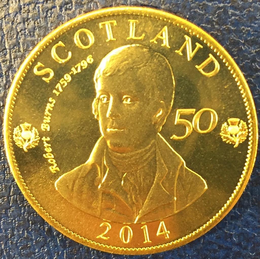 Monedas de lo que pudo ser una Escocia independiente IMG_4404
