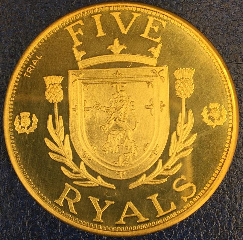 Monedas de lo que pudo ser una Escocia independiente IMG_4391