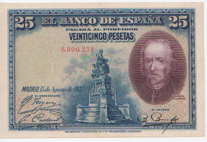 1928 - 25 Pesetas 1928 (Sin Serie) 25_pesetas_1928_ss_003
