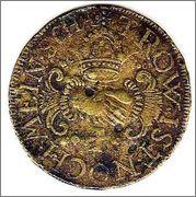 Jetón de Nuremberg. Año 1575. BEZWIFEL NIT GOT SALTROVLON. Copia_3_de_img183