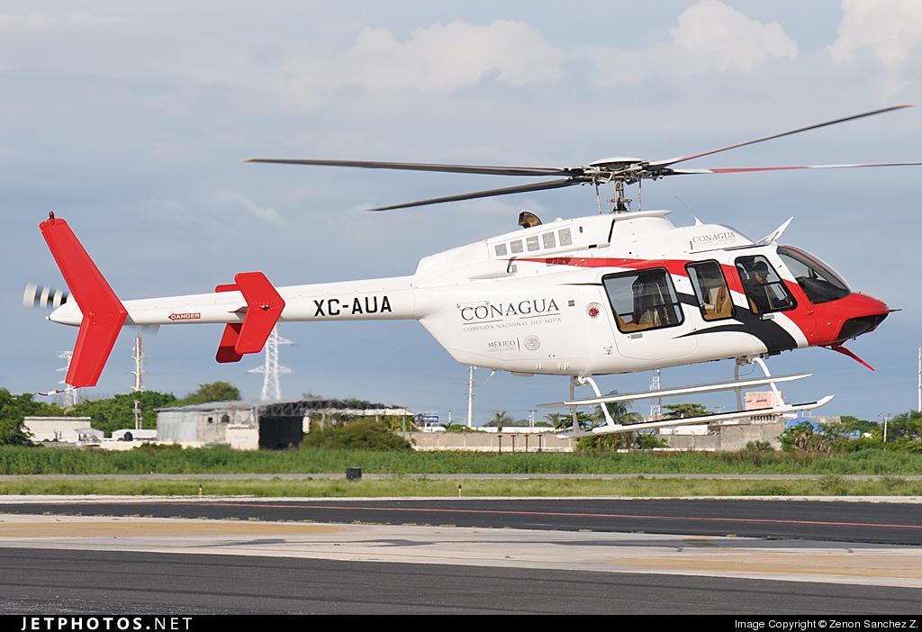 aeronaves - Aeronaves  Matriculas  XC-  ( Por Estados) CONAGUA_Bell_407_XC_AUA_2013