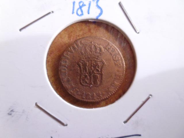 1 ochavo 1813 Fernando VII Cataluña P1100817