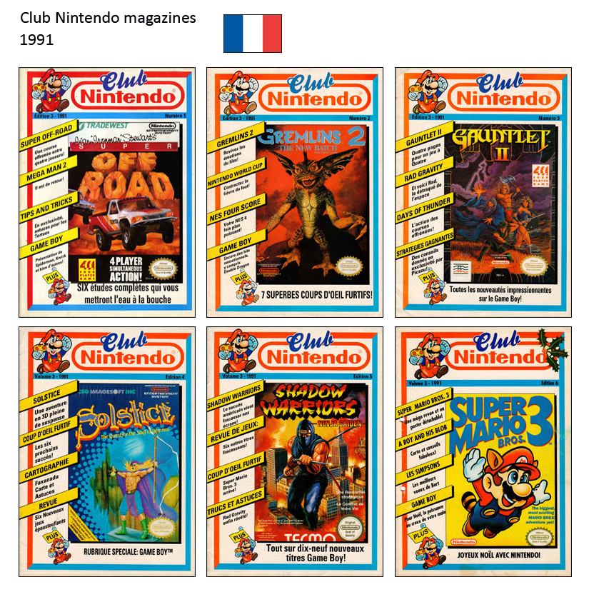 "Magazine ""Club Nintendo"" 1991"