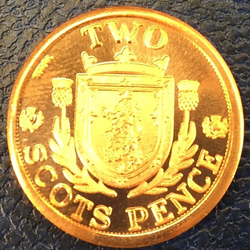 Monedas de lo que pudo ser una Escocia independiente IMG_4411