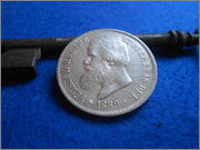 2000 Reis Pedro II 1889 (Brasil) Marqués de la Ensenada dedit DSCN2053