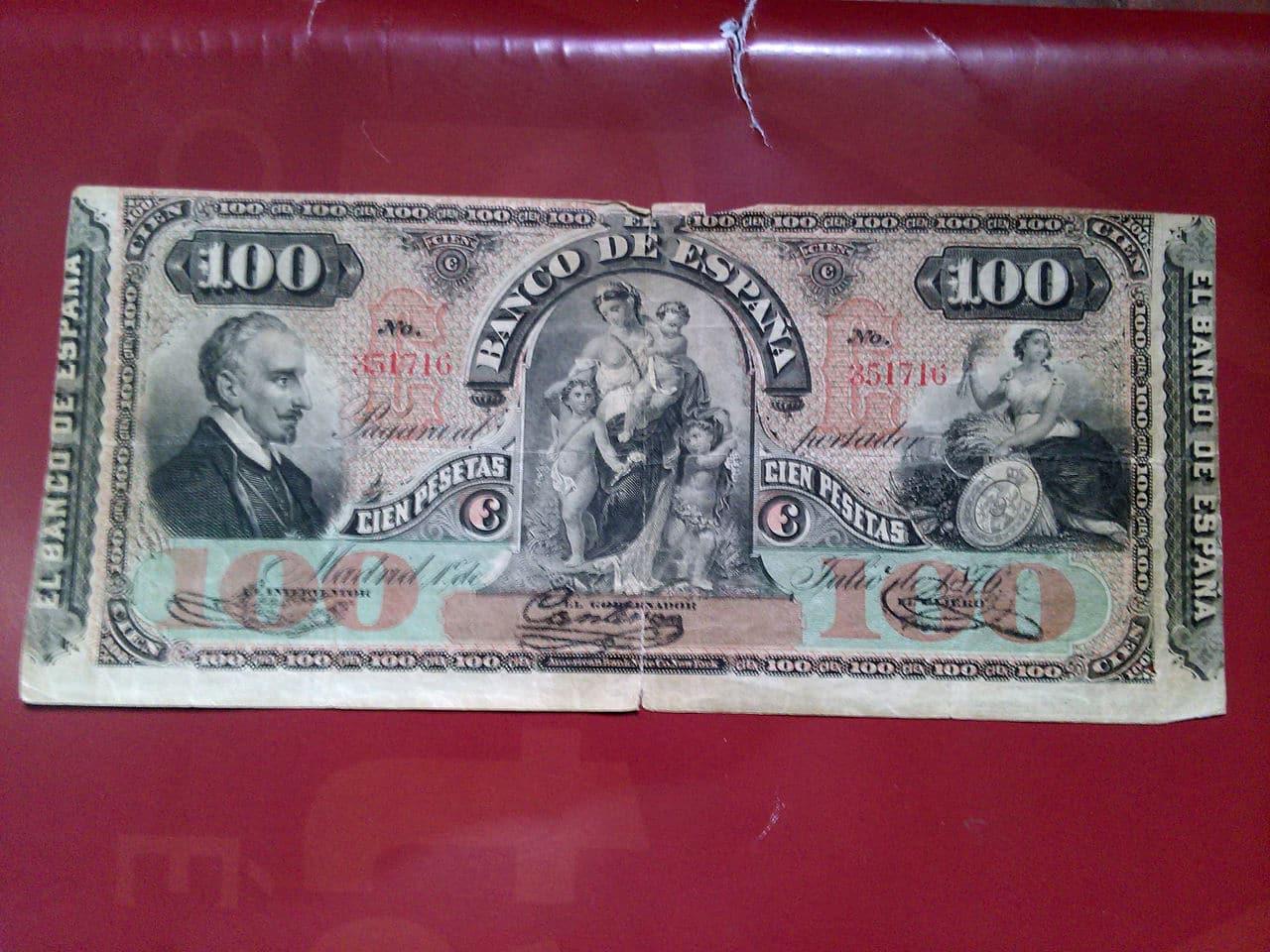 100 Pesetas 1876 Billete_1