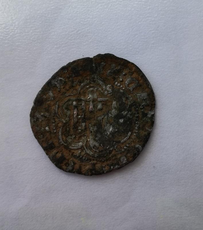 Blanca de Enrique III de Castilla 1390-1406 Sevilla. IMG_20161218_151533
