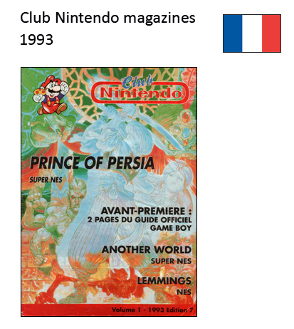"Magazine ""Club Nintendo"" 1993_France"
