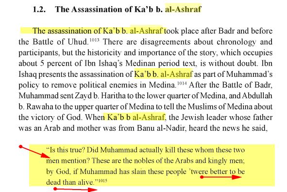 Ka'b ibn al-Ashraf :Meurtre Killing Lol