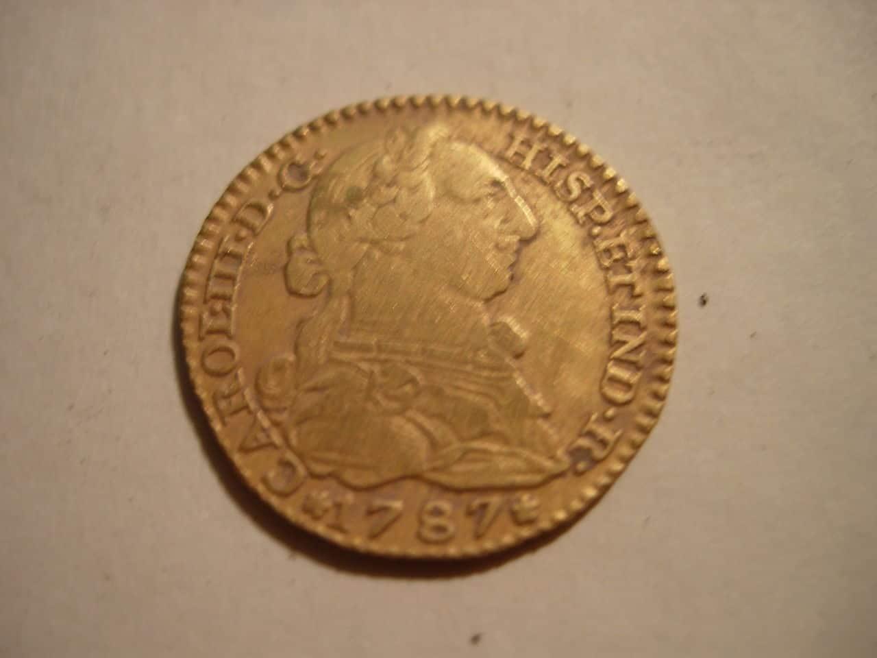 1 escudo 1787. Carlos III. Madrid Imagen_017