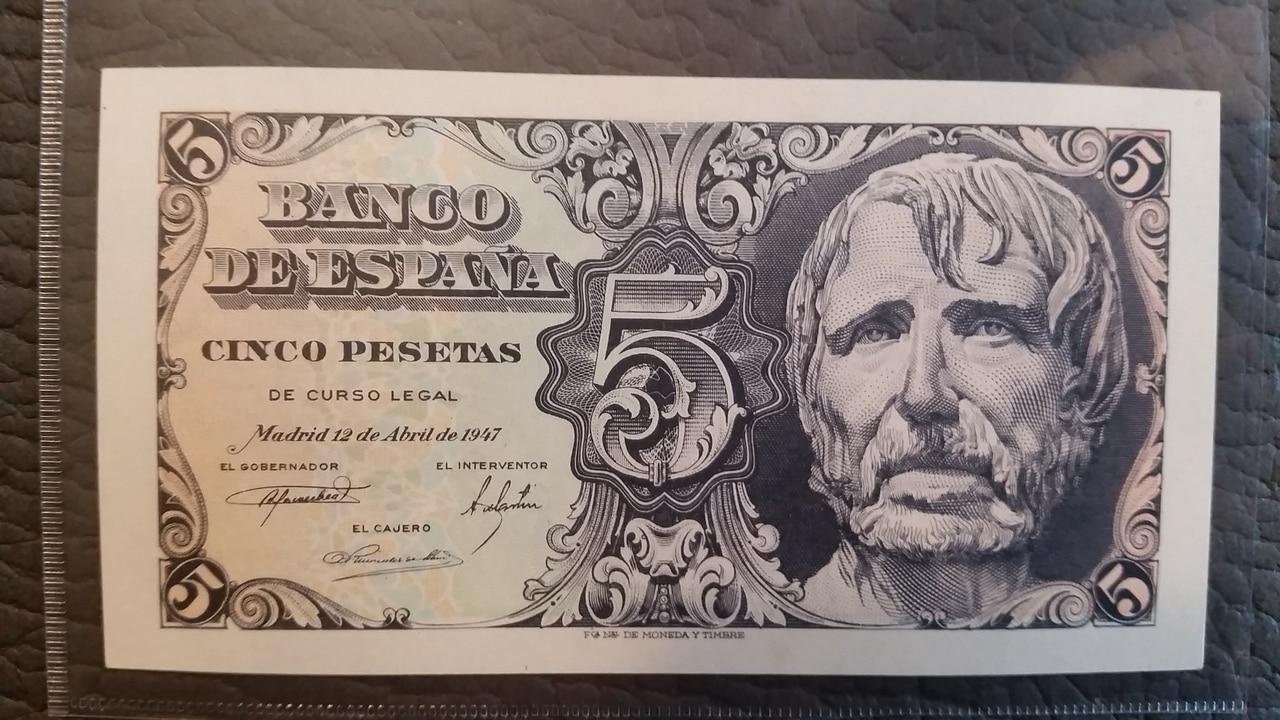 Colección de billetes españoles, sin serie o serie A de Sefcor pendientes de graduar 20161217_114536