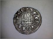 Dinero pepion de Fernando IV de Castilla 1295-1312 Burgos. 637