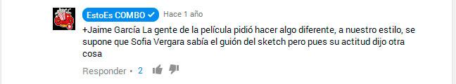 Youtubers de cine Estoescombo-mensaje