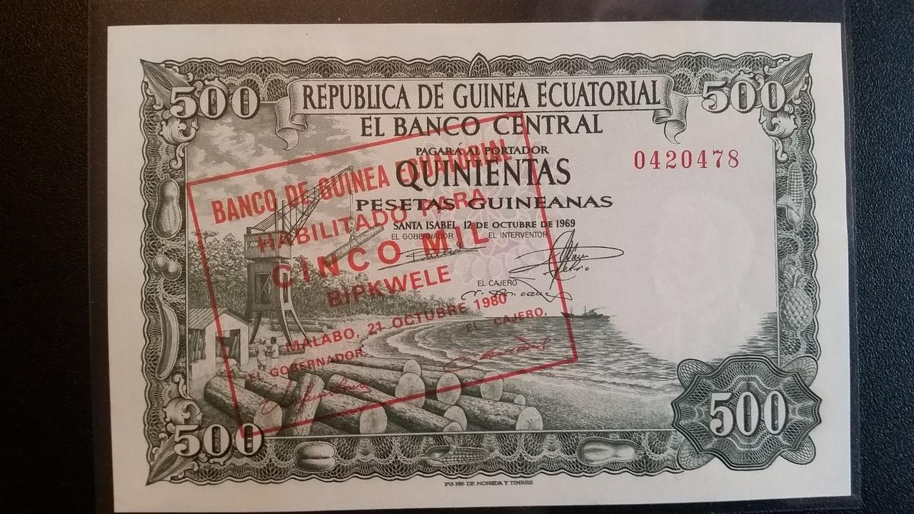 Colección de billetes españoles, sin serie o serie A de Sefcor pendientes de graduar 20161217_120856