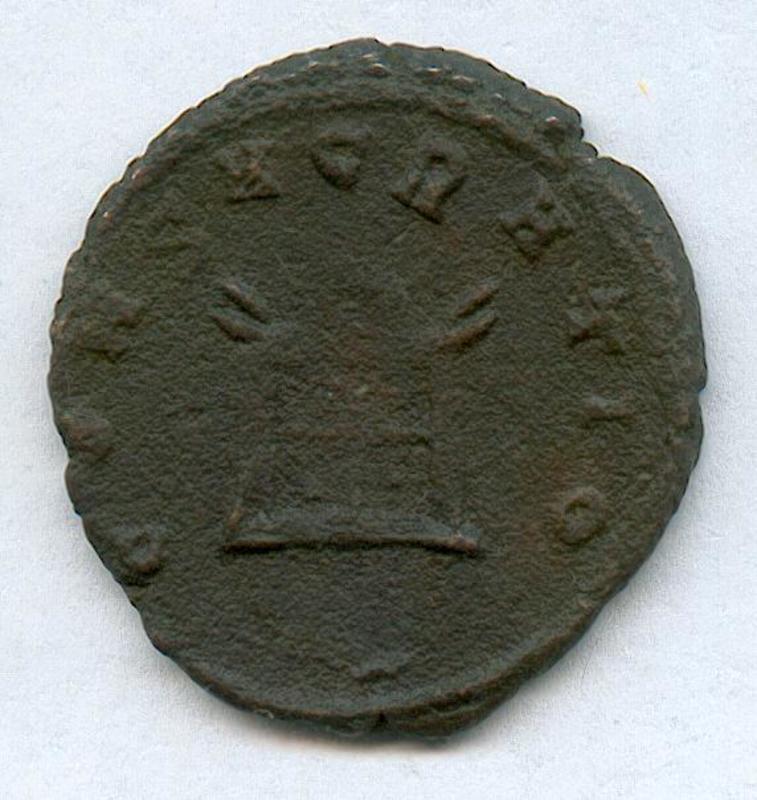 Antoniniano de Claudio II DIVO_CLAUDIO_REV