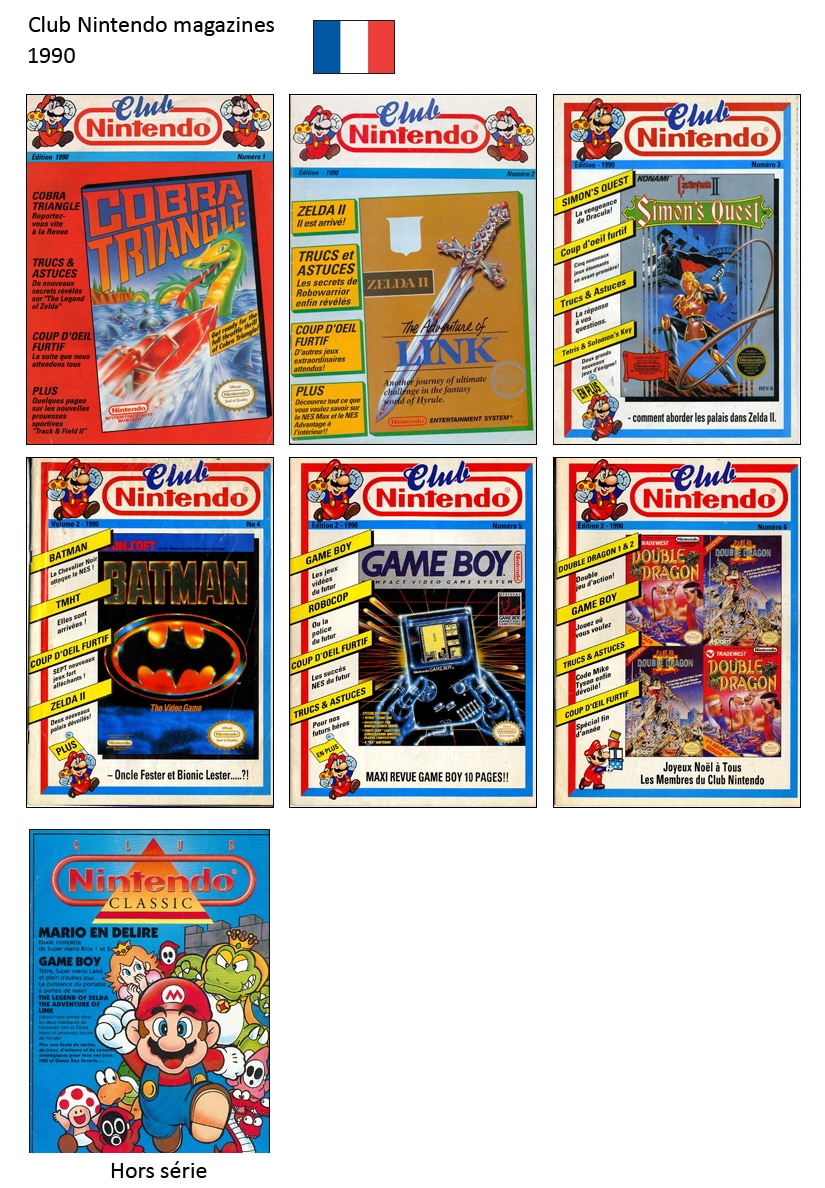 "Magazine ""Club Nintendo"" 1990"