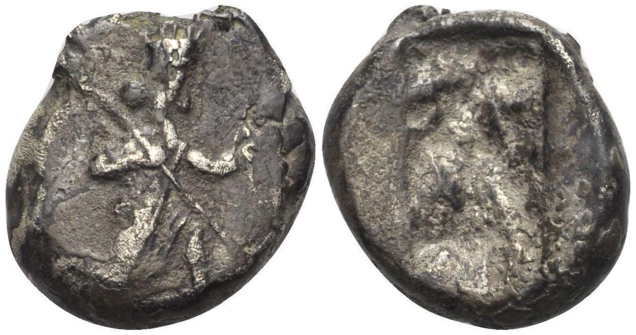 Siclo Aquénemida. Darios I-Jerjes II. 485 - 420 a. C. 206b