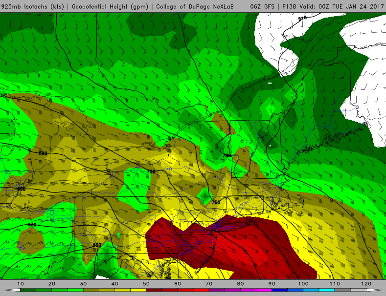 January 22nd-23rd High Impact Storm Gfs_east_wind