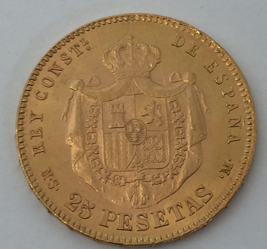 25 pesetas 1881 (*18-81). Alfonso XII Full_Size_Render_27