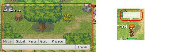 Cor da fonte do chat no Netplay Master v4.9 Chaterro