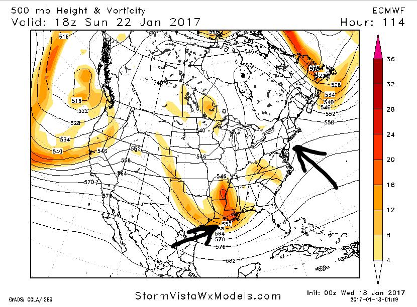 January 22nd-23rd High Impact Storm EURO