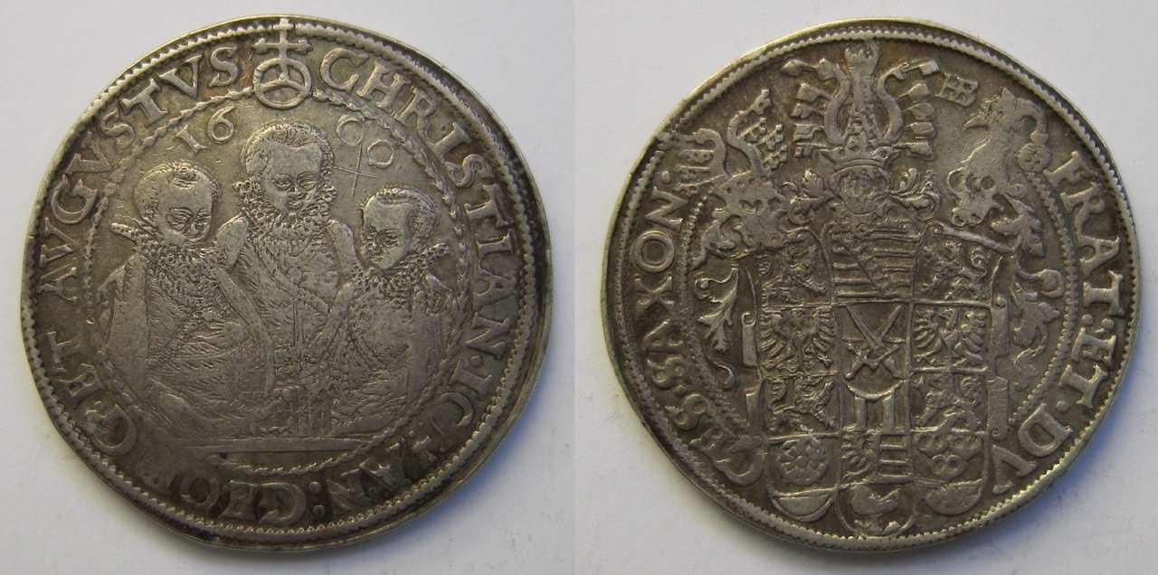 1 Thaler de Cristian II, Juan Jorge I y Augusto. 1600 Sajonia - Página 2 1_Thaler_Sajonia_1600