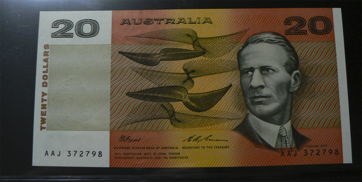 20 Dólares Australia, 1994  Austl46i