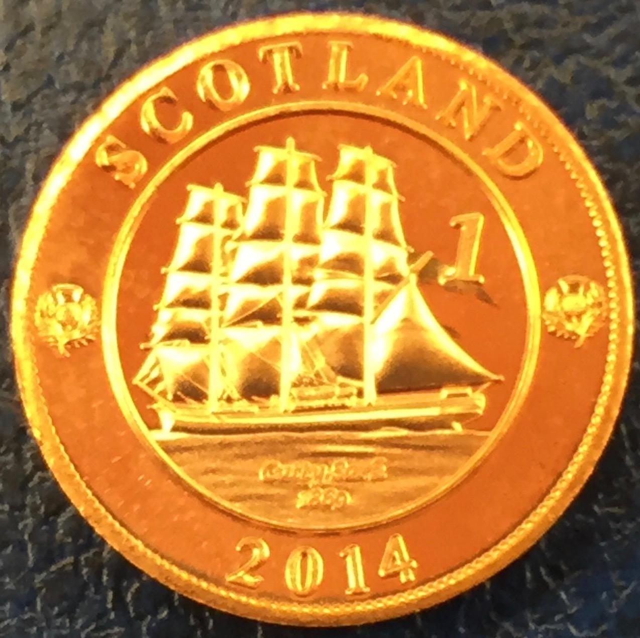Monedas de lo que pudo ser una Escocia independiente IMG_4416