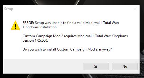 Steam y Mods medieval CC2_Mod