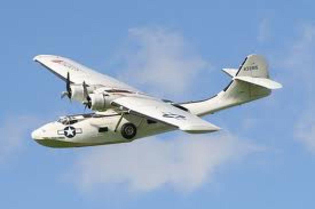 Aeronaves  del pasado de la SEMAR. Consolidatedpby_5catalina
