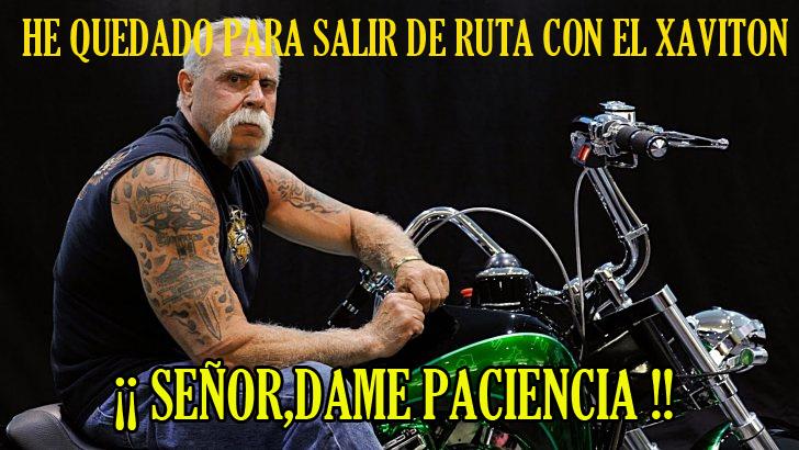 PARA SALIR CON XAVITON HAY QUE SER UN TIPO DURO.... Image