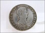 8 REALES FERNANDO VII ,1818, SEVILLA, C - J 57_10