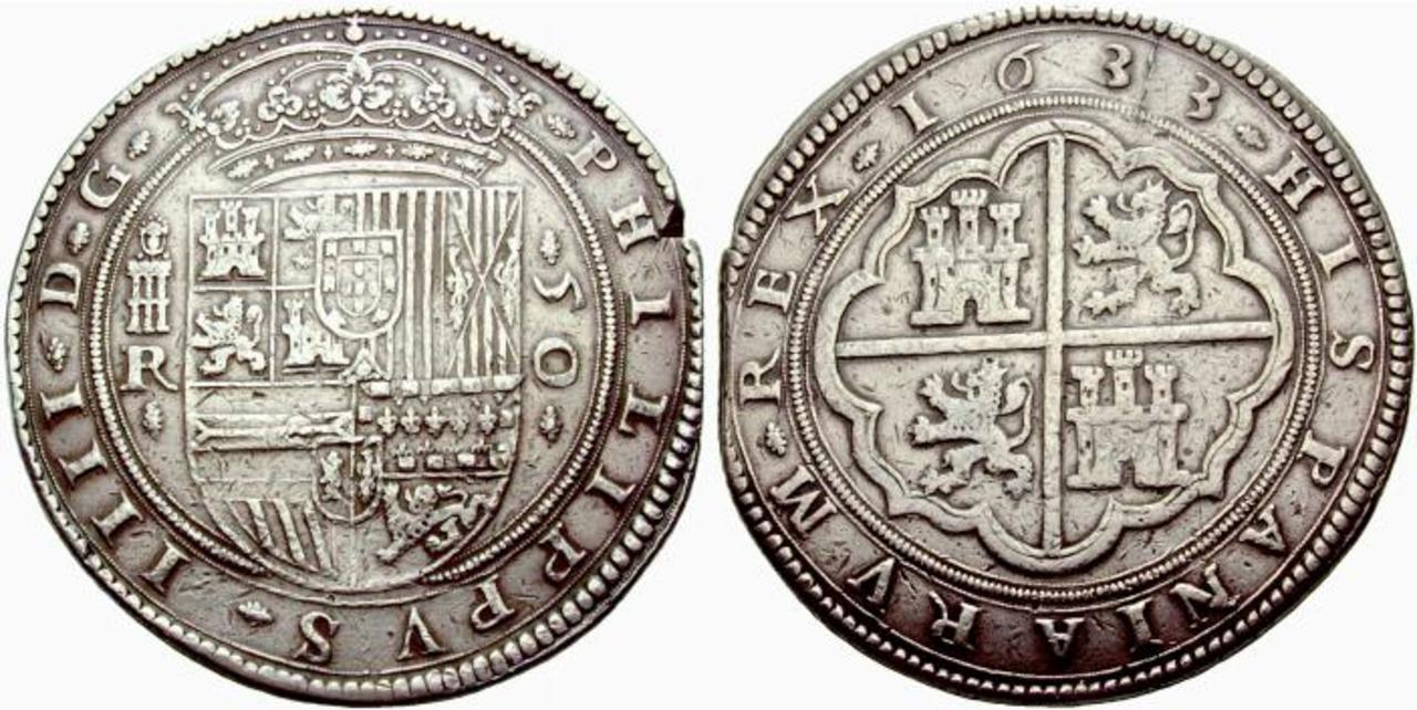 8 reales 1633. Felipe IV. Real Ingenio de Segovia. 425767