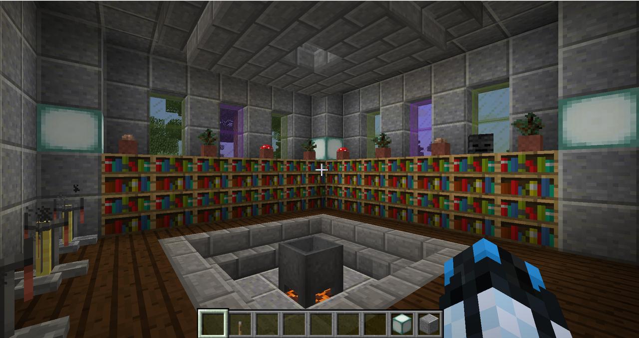 Minecraft Creations Brewing_Room_Castle
