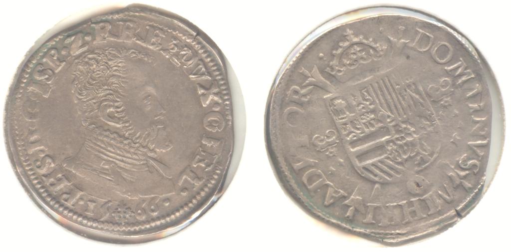 Una verdadera chapuza, 1/5 escudo de Felipe II, 1566, Güeldres (ceca de Nimega) 1_5_escudo_de_Felipe_II_1566_G_eldres_600_pixels
