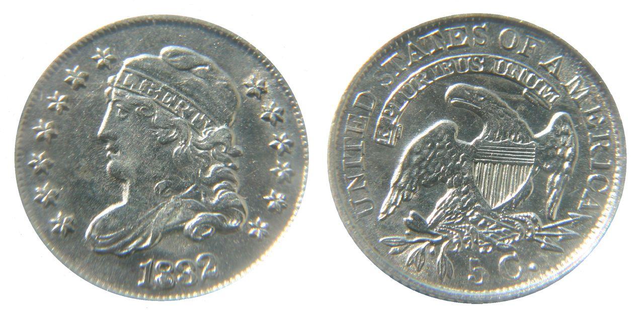 5 céntimos 1832 (Capped Bust Half Dime). EE.UU. 5_cent_1832