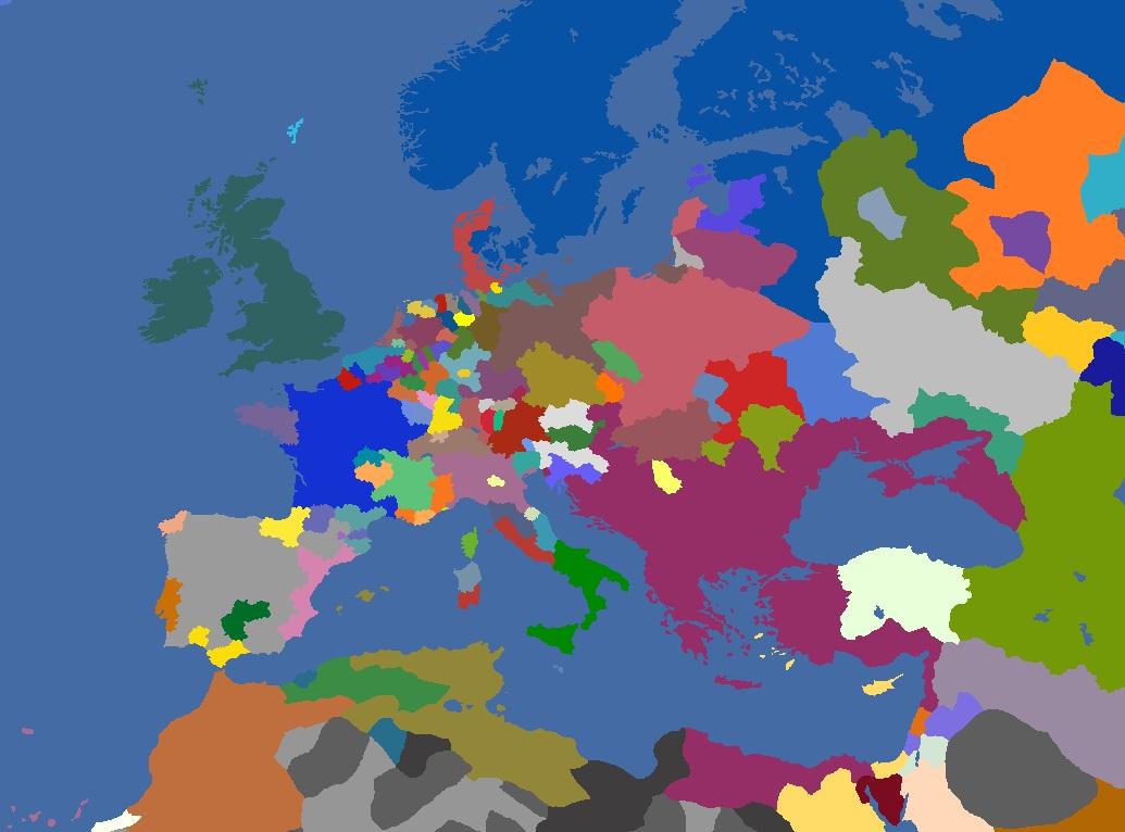 "MP-""Europa Divisa"" 1618"