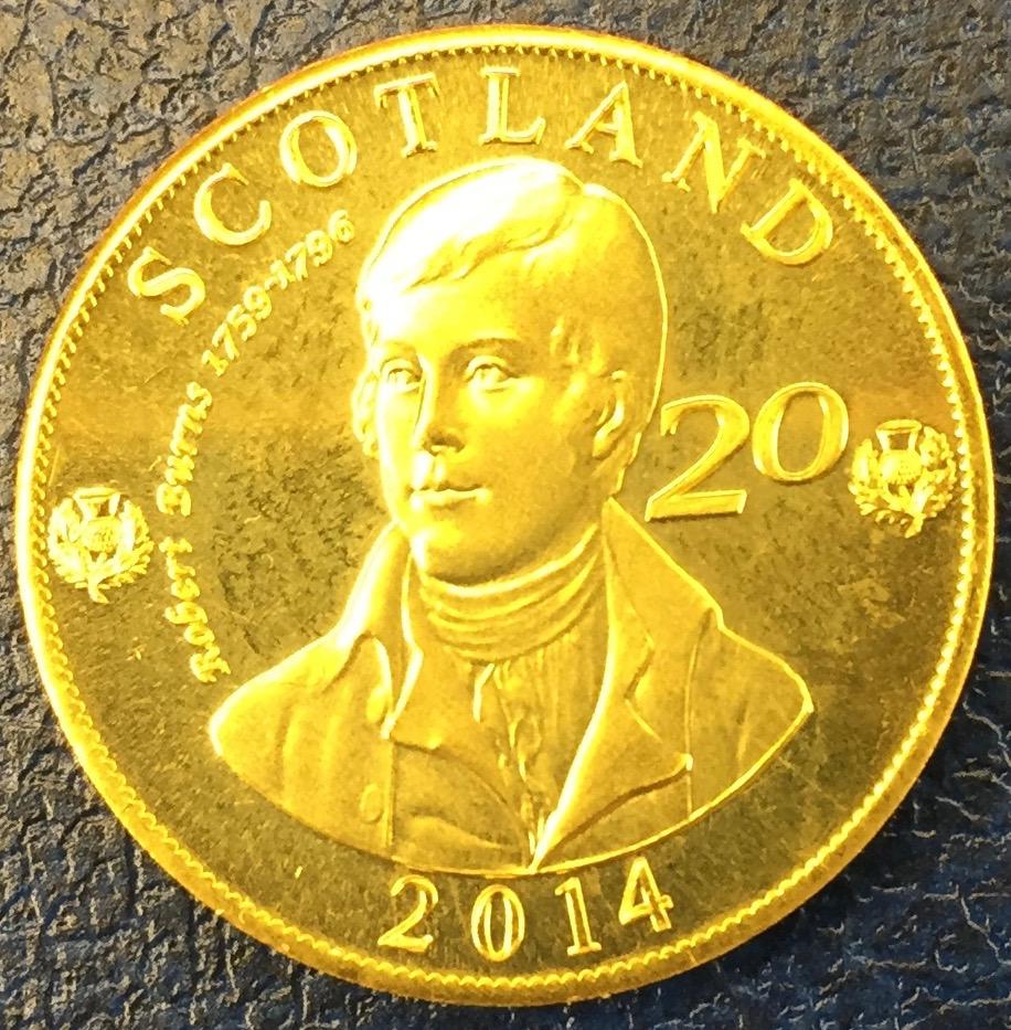 Monedas de lo que pudo ser una Escocia independiente IMG_4405