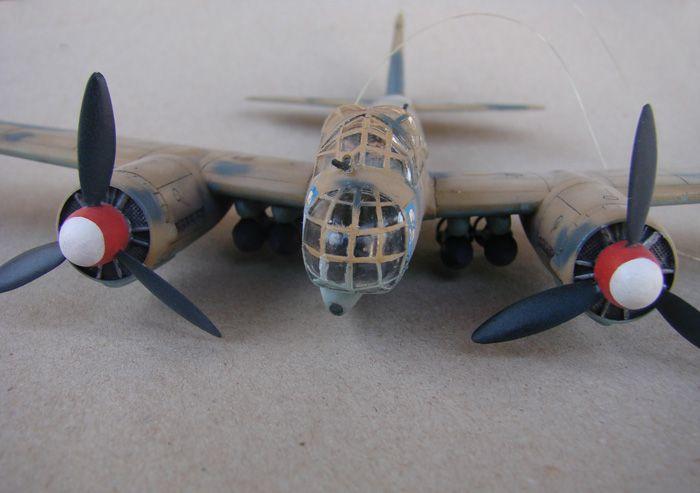 Junkers Ju-88A-4, Revell(rebuild), 1/72 DSC03197
