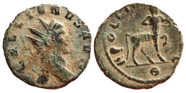 Follis de Constantino I Magno 330 - 333 d. C. GLORIA EXERCITVS. Constantinopolis 0_0_0_0_0_0_ANT_GALLIENO_MUY_RARO