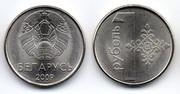BIELORRUSIA - 1 Rublo 2009 Bielorrusia_1_Rublo