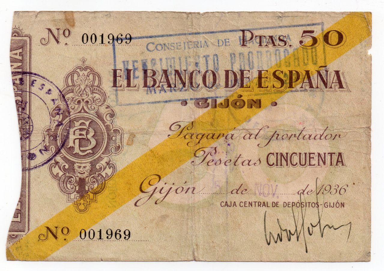 50 Pesetas 1936 (Banco de España en Gijón, serie baja) Img071
