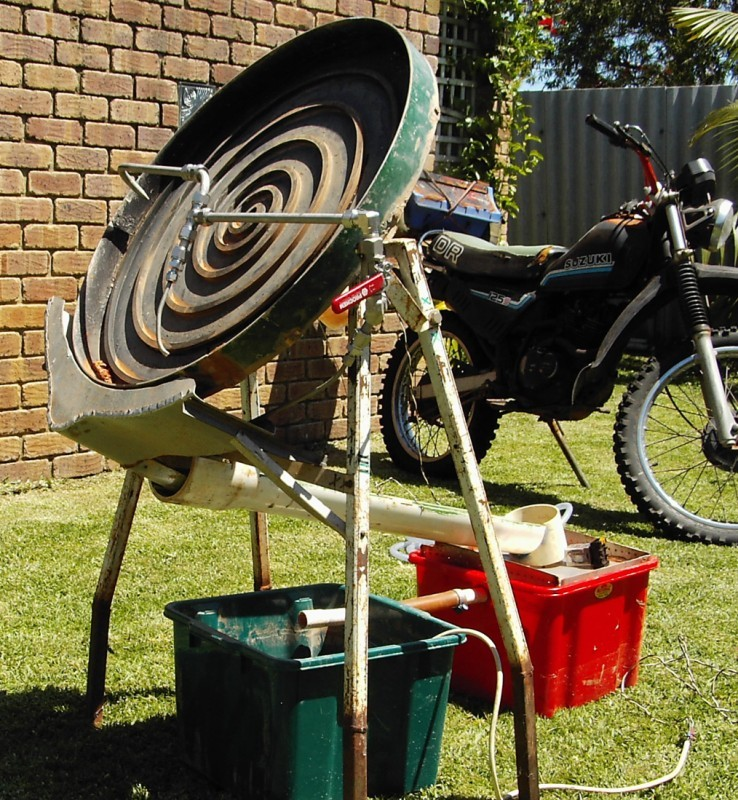 Home built Gold Wheel for sale. Archivepotos573