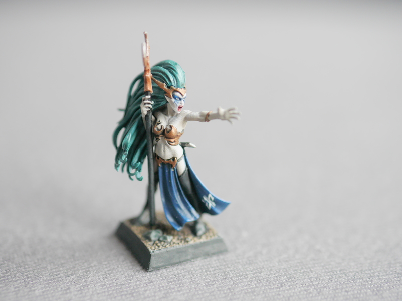 Peintures d'elfes noirs Sorceress