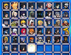Zetsu Invasion (Bonus game) ROSTER