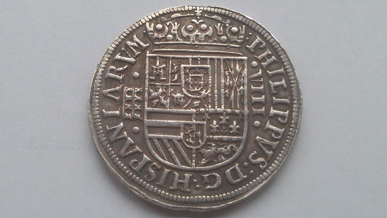8 reales FELIPE II  Ingenio de Segovia 1586 IMAG1636